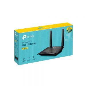 مودم روتر 4G LTE بی سیم N300 تی پی لینک مدل TL-MR100