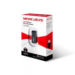 کارت شبکه USB بی سیم 300Mbps مرکوسیس مدل MW300UM